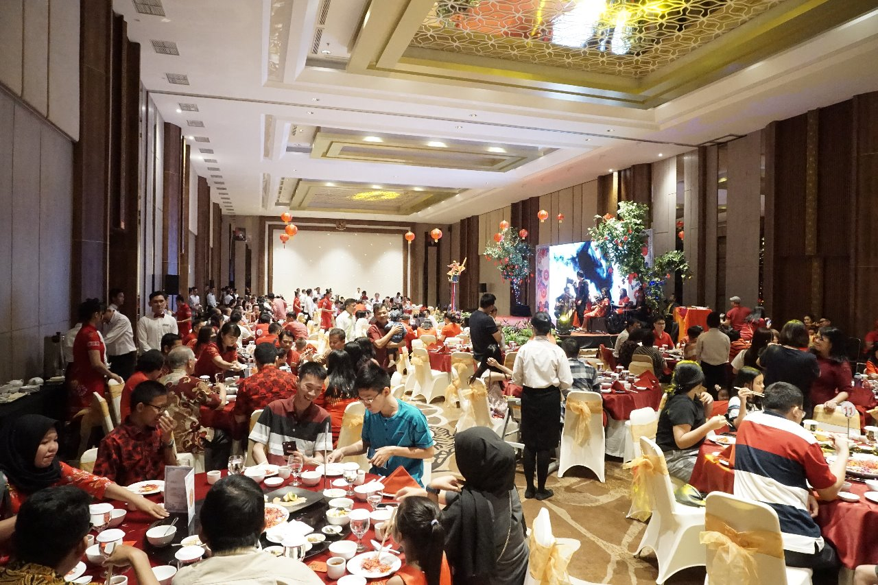 imlek excelton hotel Palembang