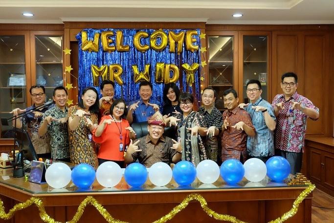 Kakanwil BCA VI Palembang Widy Tarmizi