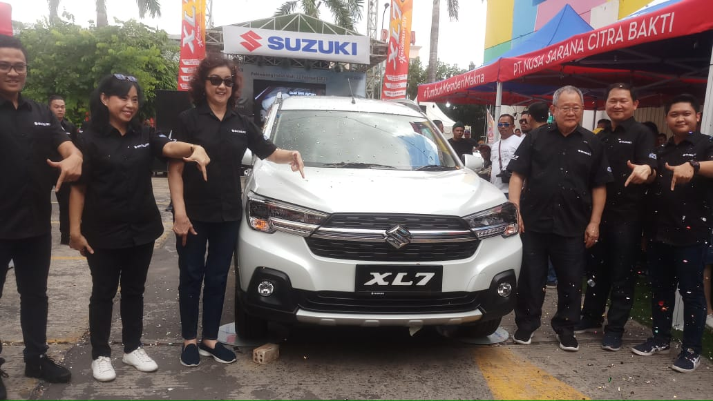 Peluncuran Suzuki XL-7 di Palembang