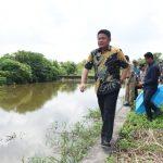 Gubernur herman Deru ke Desa Patra Tani Kecamatan Muara Belida Kabupaten Muara Enim