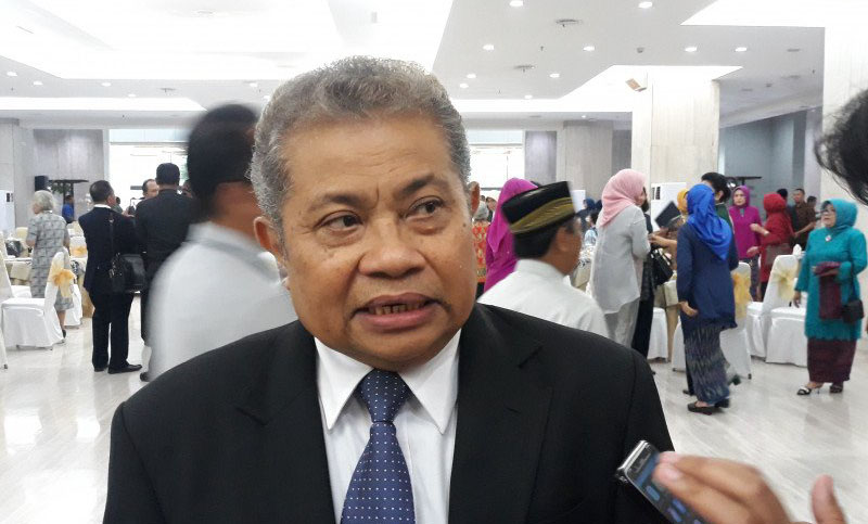 Juru Bicara Mahkamah Agung Andi Samsan Nganro (ANTARA/Dyah Dwi)