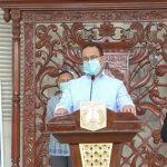 Gubernur DKI Jakarta Anies Basweda dalam konferensi pers di Jakarta, Kamis (26/3/2020). ANTARA/YouTube/dkijakarta
