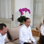 Presiden Joko Widodo mengumumkan temuan kasus infeksi virus corona pertama di Indonesia di Jakarta, Senin (02/03/2020). (ANTARA/Desca Lidya Natalia)