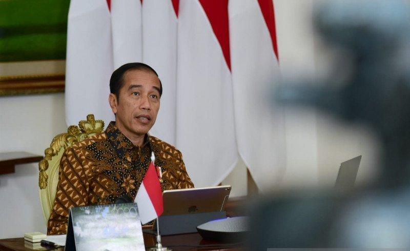 Presiden jokowi pembatasan wilayah