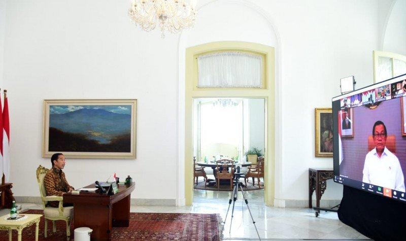 Presiden Jokowi stimulus UMKM