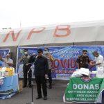 Gubernur H Herman Deru menerima bantuan disinfektan dari Asohi