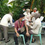 di Lapangan Volly Rumkit TK. IV 02.07.05 dr. Noesmir Baturaja, Kabupaten OKU, Kamis (14/10/2021).